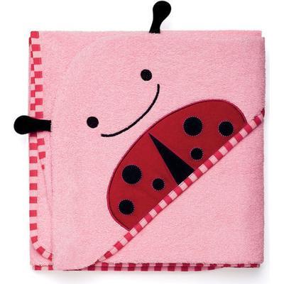 Skip Hop Zoo Hooded Towel & Mitt Set Livie Ladybug