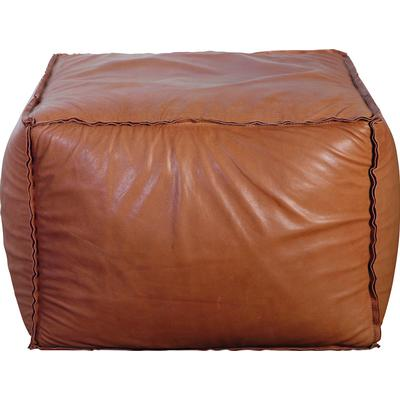 House Doctor Soft Brick 60cm Pouffe