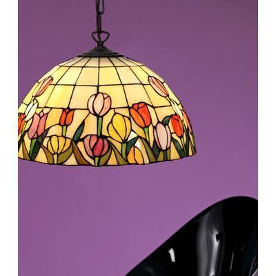 Nostalgia Tulipana 40cm Tiffany Pendant Lamp Taklampa
