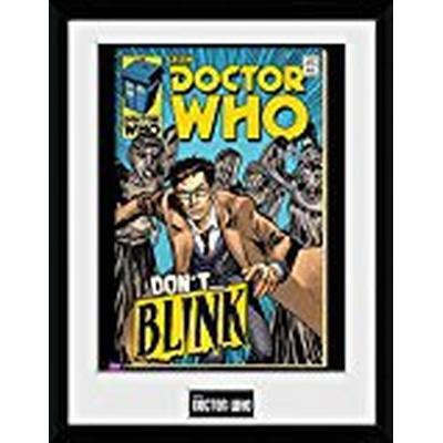 GB Eye Doctor Who Weeping Angel Comic 30x40cm Affisch