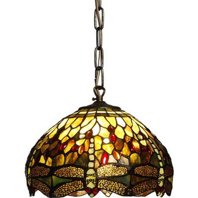 Nostalgia Trollslända 30cm Tiffany Ceiling Lamp Taklampa