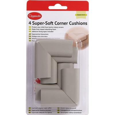 Clippasafe Super Soft Corner Cushions 4-Pack