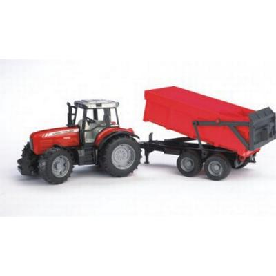 Bruder Massey Ferguson 7480 with Tipping Trailer 02045