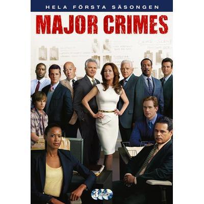 Major Crimes: Säsong 1 (3DVD) (DVD 2012)