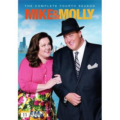 Mike & Molly: Säsong 4 (3DVD) (DVD 2014)
