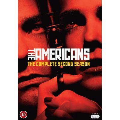 Americans: Säsong 2 (4DVD) (DVD 2014)