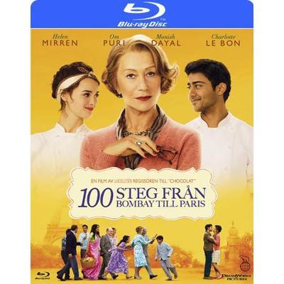 100 steg från Bombay till Paris (Blu-ray) (Blu-Ray 2014)
