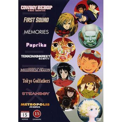 Animé collection - 9 filmer (9DVD) (DVD 2012)