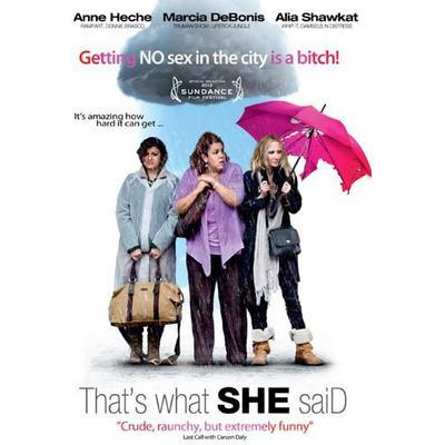 That's what she said (DVD) (DVD 2013)