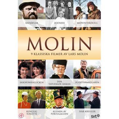Lars Molin: Samlade klassiker - Nyutgåva (7DVD) (DVD 2013)