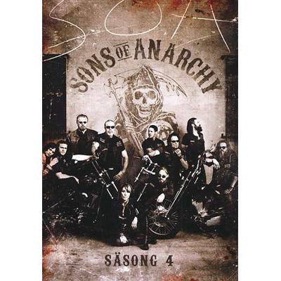 Sons of Anarchy: Säsong 4 (4DVD) (DVD 2011)