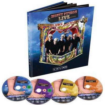 Monty Python: Live (Mostly) One down Five to go (Blu-ray + DVD + 2CD) (Blu-Ray 2014)