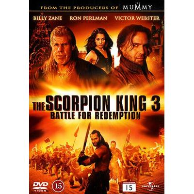 Scorpion King 3: Battle for redemption (DVD) (DVD 2012)