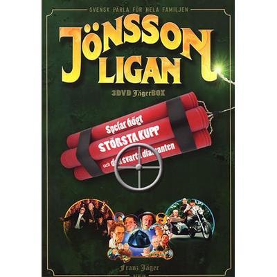 Jönssonligan x 3 (3DVD) (DVD 2014)
