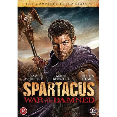 Spartacus: War of the damned / Säsong 3 (4DVD) (DVD 2013)