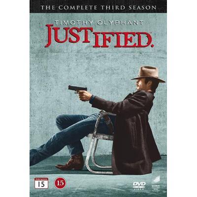 Justified: Säsong 3 (3DVD) (DVD 2012)