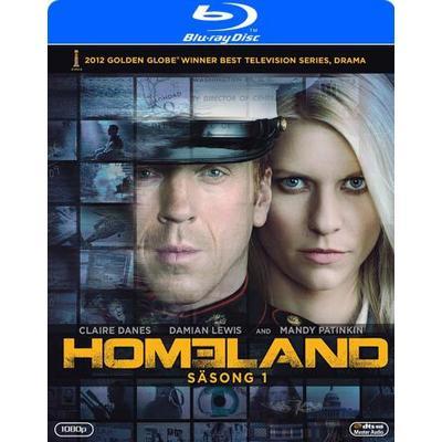 Homeland: Säsong 1 (3Blu-ray) (Blu-Ray 2011)