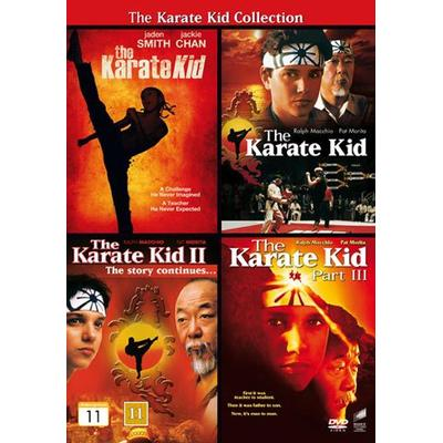 Karate Kid 1-4 Collection (4DVD) (DVD 2014)