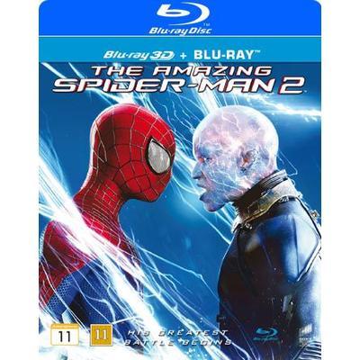 Amazing Spider-Man 2 3D (Blu-ray 3D + Blu-ray) (3D Blu-Ray 2014)