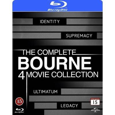 Bourne 1-4 Collection (4Blu-ray) (Blu-Ray 2012)