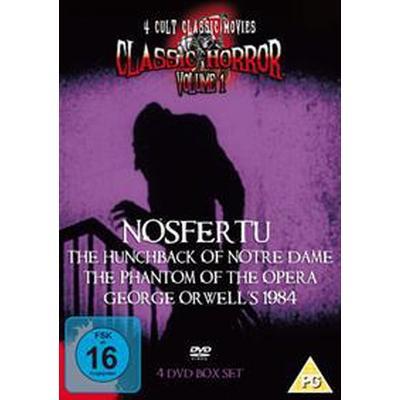 4 Cult Classic Movies: Classic Horror Volume 1 (DVD) (DVD 2014)
