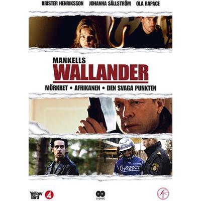 Wallander vol 2 - 3 filmer (2DVD) (DVD 2013)