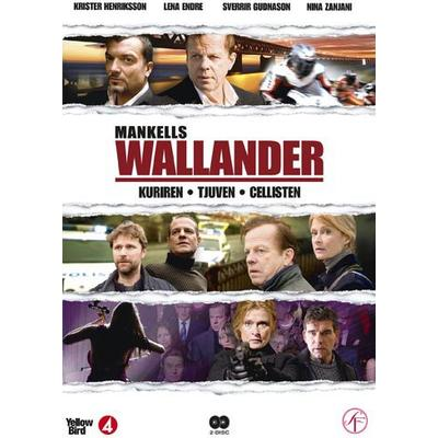 Wallander vol 6 - 3 filmer (2DVD) (DVD 2013)