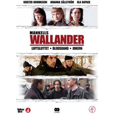 Wallander vol 4 - 3 filmer (2DVD) (DVD 2013)