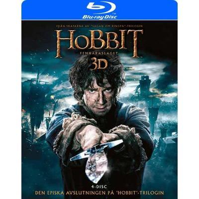 Hobbit 3 - Femhäraslaget 3D (2Blu-ray 3D + 2Blu-ray) (3D Blu-Ray 2014)