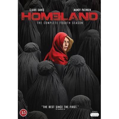 Homeland: Säsong 4 (4DVD) (DVD 2014)