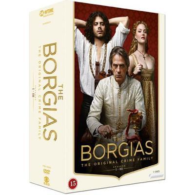 Borgias: Säsong 1-3 (11DVD) (DVD 2015)