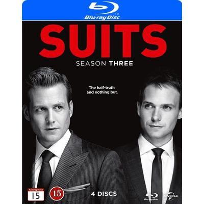 Suits: Säsong 3 (4Blu-ray) (Blu-Ray 2013)