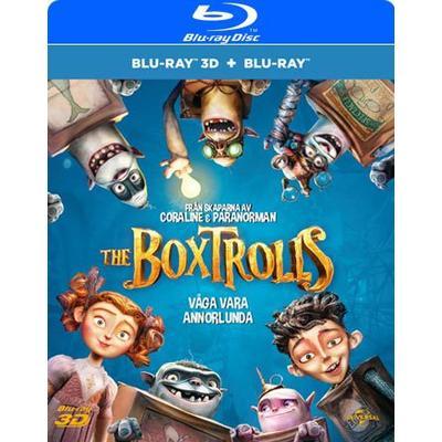 Boxtrolls (Blu-ray 3D + Blu-ray) (3D Blu-Ray 2014)