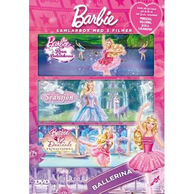 Barbie Box - Ballerina x 3 (3DVD) (DVD 2014)