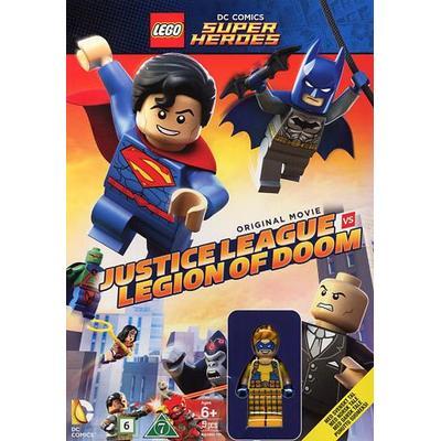 Lego - Justice league vs Legion of Doom + figur (DVD) (DVD 2015)