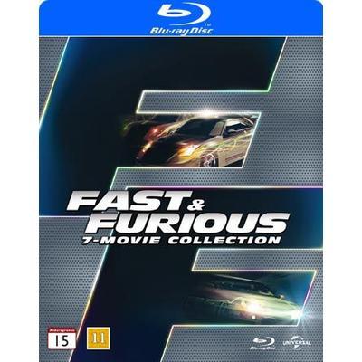 Fast & Furious 1-7 Collection (7Blu-ray) (Blu-Ray 2015)