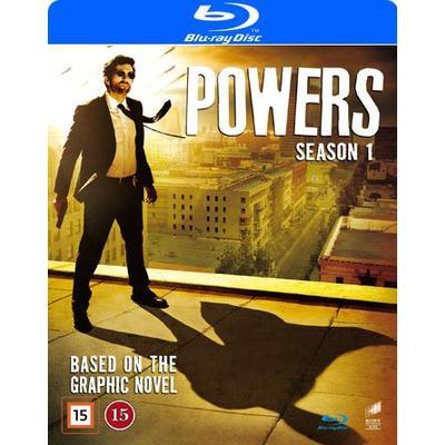 Powers: Säsong 1 (3Blu-ray) (Blu-Ray 2015)