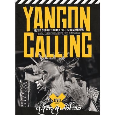 Yangon Calling - Myanmar (DVD + Bok) (DVD 2013)