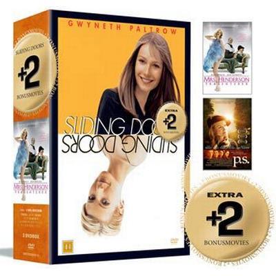 Sliding doors + 2 Bonusfilmer: Box (3DVD) (DVD 2015)