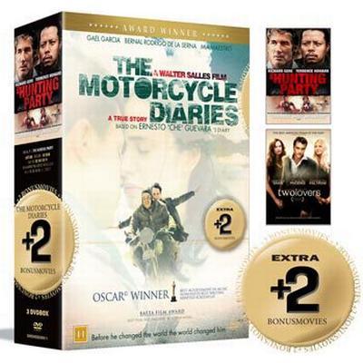 Dagbok från en motorcykel + 2 Bonusfilmer: Box (3DVD) (DVD 2015)