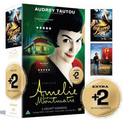 Amelie från Montmartre + 2 Bonusfilmer: Box (3DVD) (DVD 2015)