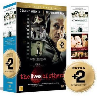 De andras liv + 2 Bonusfilmer: Box (3DVD) (DVD 2015)