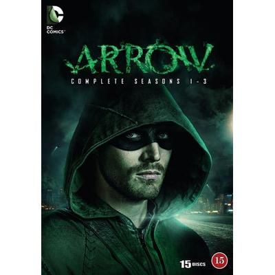 Arrow: Säsong 1-3 (15DVD) (DVD 2015)