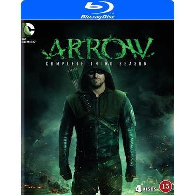 Arrow: Säsong 3 (4Blu-ray) (Blu-Ray 2015)