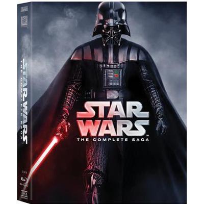Star Wars - The complete saga: Nyutgåva (9Blu-ray) (Blu-Ray 2015)