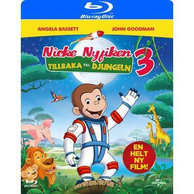 Nicke Nyfiken 3 - Tillbaka till djungeln (Blu-ray) (Blu-Ray 2015)