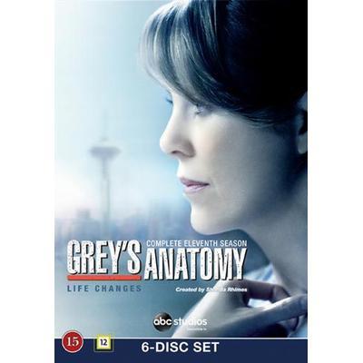Grey's Anatomy: Säsong 11 (6DVD) (DVD 2015)