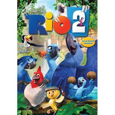 Rio 2 - Prövar vingarna i Amazonas (DVD) (DVD 2014)