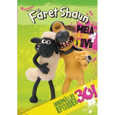 Fåret Shaun: Säsong 4 (5DVD) (DVD 2014)