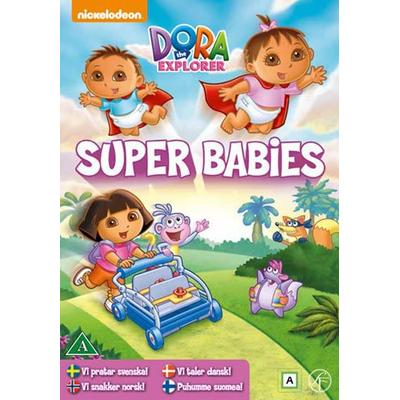 Dora Utforskaren 21: Superbebisar (DVD) (DVD 2015)